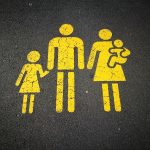 yellow family sign
